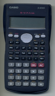Calculadora Casio Fx-82 MS