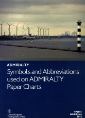 Symbols and abbreviations used on Admiralty paper charts