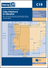 Cabo Finisterre to Gibraltar Passage Chart