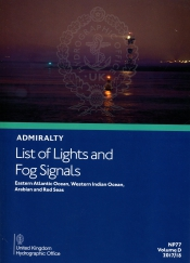Admiralty list of lights and Fog Signals <br>Volume D