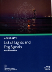 Admiralty list of lights and Fog Signals <br>Volume E