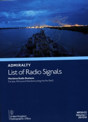 Admiralty List of Radio Signals <br> Maritime Radio Stations<br>Volume 1